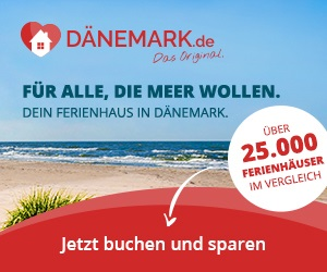 Ferienhäuser in Dänemark buchen